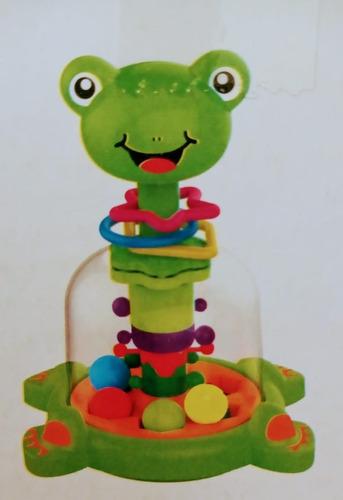 juguete juego bebe 6m+ trompo didactico sunlike babymovil
