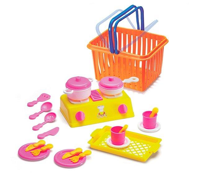 juguete juego de cocina para nios con accesorios