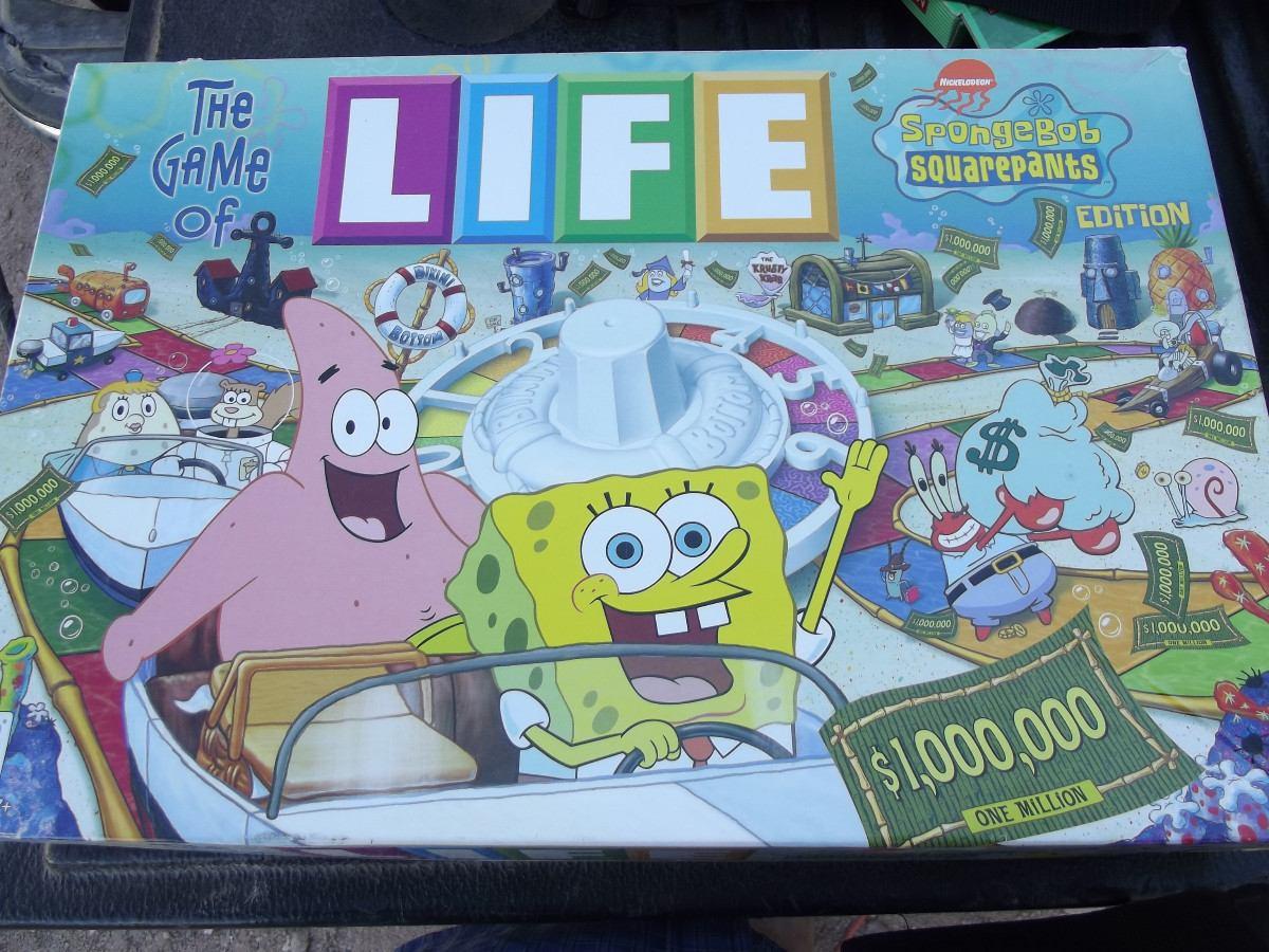 Juguete Juego De Mesa Life Bob Esponja   45000 en Mercado Libre