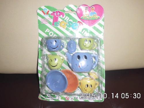 juguete juego de te para muñecas barbie, princesas ,frozen