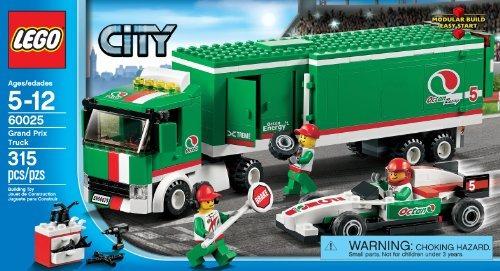 Lego City 60025 Gran Premio Camion De Juguete Juego De
