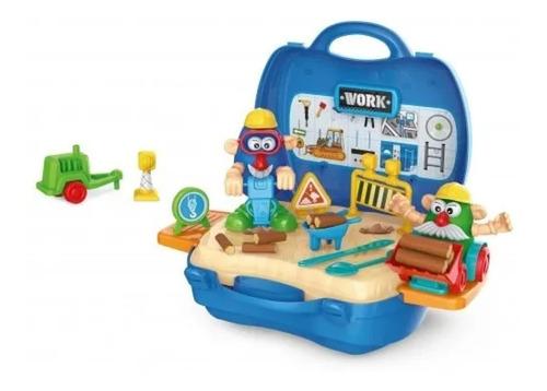 juguete juego masas valija profesiones love babymovil
