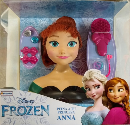 juguete juego peina a tu princesa anna elsa frozen disney