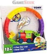 juguete juego tren con pista musical multi actividades  tomy