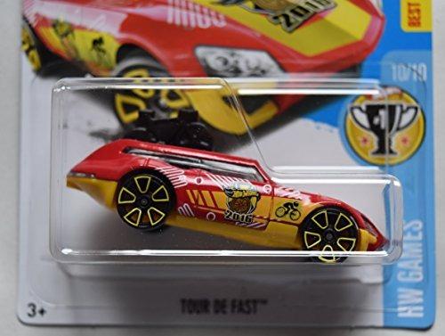 Juguete Juegos Hot Wheels Hw 10 10 Rojo Amarillo Tour De