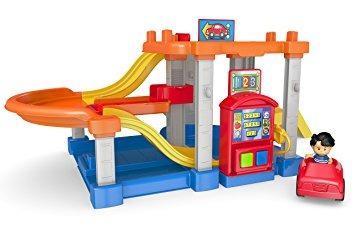 juguete juguetes para bebés garaje rampas de fisher price l