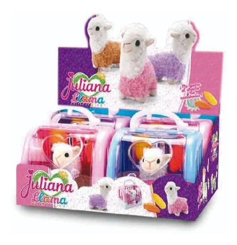 juguete juliana peluche llama con accesorios