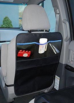 juguete kick alfombras de coche asiento trasero protectores