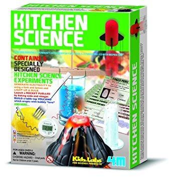 juguete kit 4m cocina ciencia