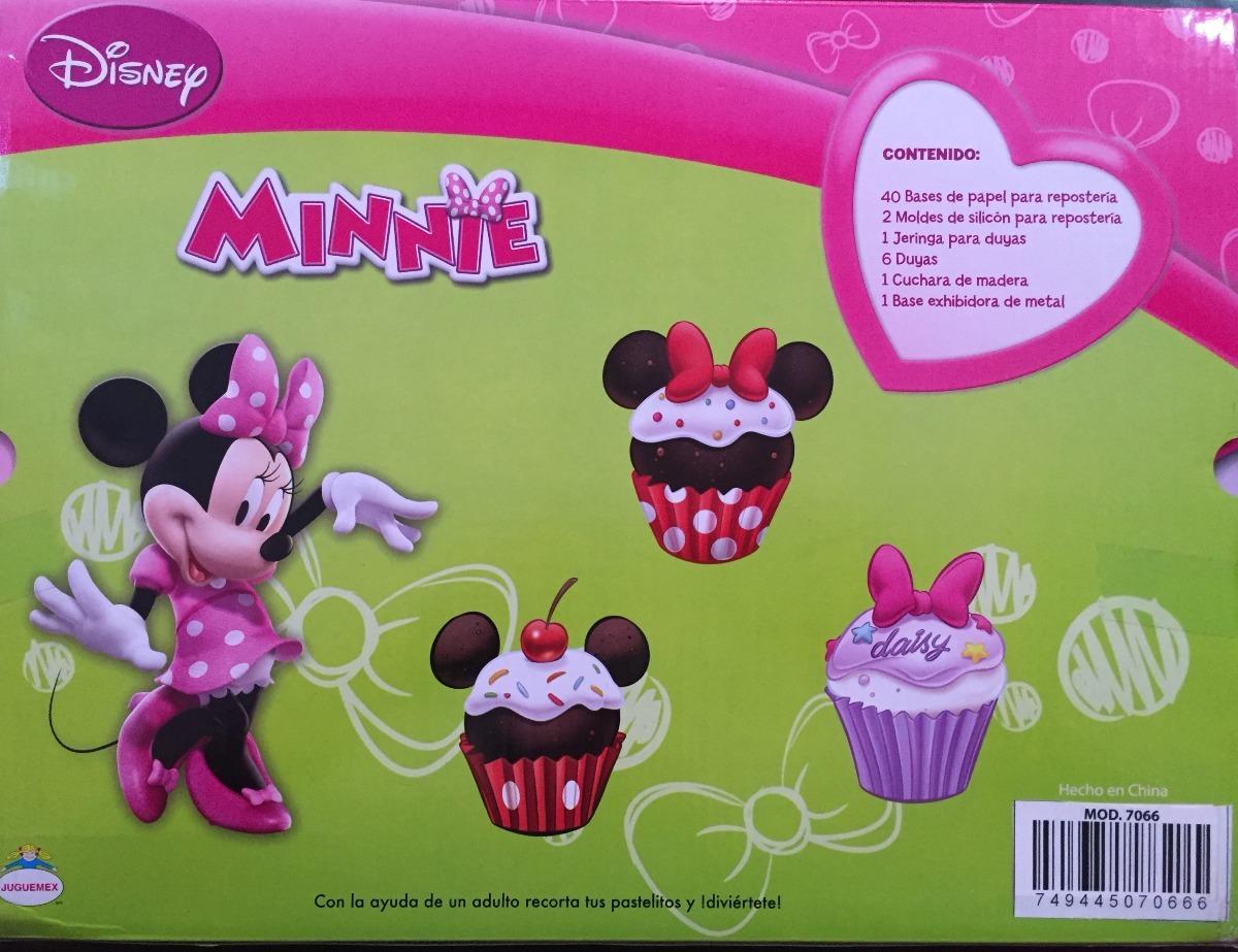 Juguete Kit Para Decorar Cupcakes Disney Minnie Mouse