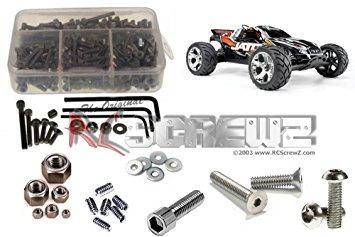 juguete kit rc screwz traxxas jato 3.3 tornillo de acero in