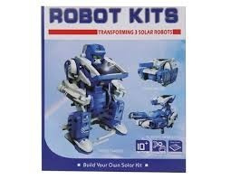 juguete kit solar 3 en 1 robot solar 8 sets