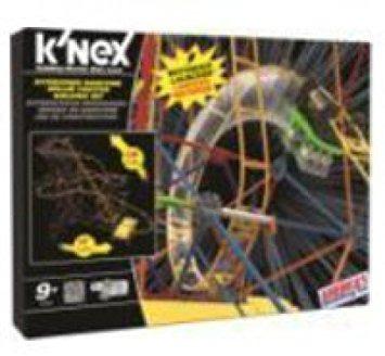 juguete knex atracciones mecánicas  hyperspeed hangtime de