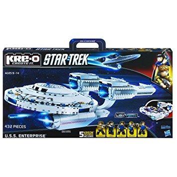 juguete kre-o star trek uss conjunto de construcción de la