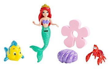 juguete la bolsa de baño de lujo de disney princess ariel