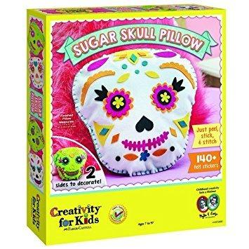 juguete la creatividad de los niños del cráneo del azúcar a
