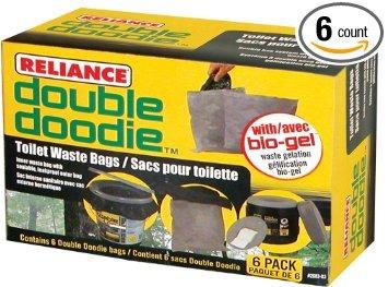 juguete la dependencia productos doble doodie aseo bolsas d