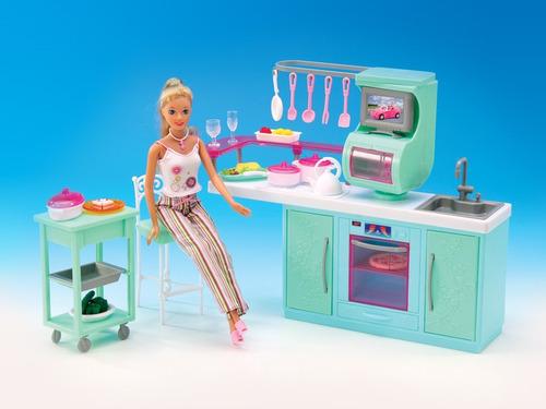 juguete la kitchenette gloria muebles muñecas 29cm babymovil