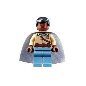 juguete lando calrissian (general vestimenta) - lego star w