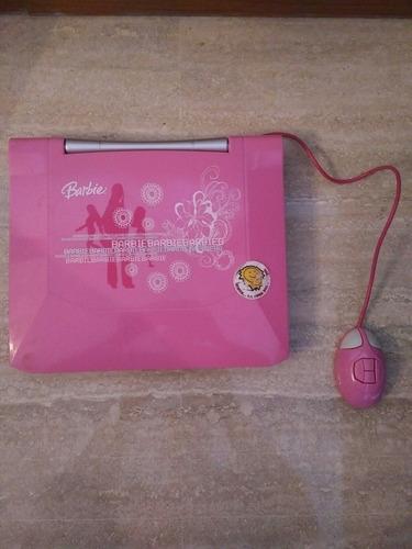 juguete laptop barbie, super laptop sonata - niña