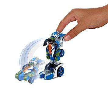 juguete las tortugas ninja t-máquinas de leonardo calle sam