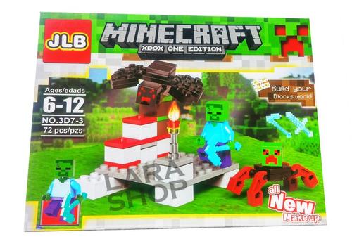 juguete lego armables minecraft my world 70 pzas niño