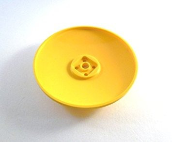 juguete lego city ciudad muy raro plato amarillo 8 x 8 inve