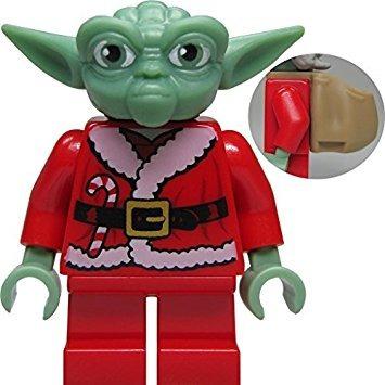 juguete lego de santa yoda edición limitada minifigure (sol