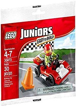 juguete lego juniors fácil de construir polybag  car racer