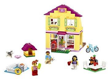 juguete lego juniors  kit de construcción de viviendas de l