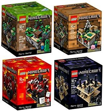 Juguete Lego Minecraft Minecraft Juego De Lego Coleccion 4 1 097