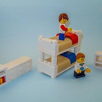Juguete Lego Muebles De Los Niños Del Sistema De Dormitorio ...