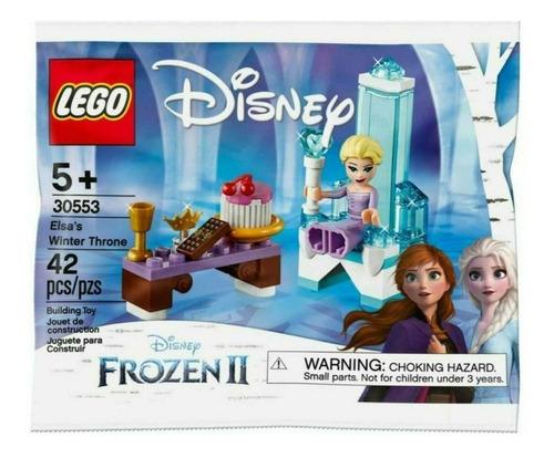 juguete lego nena frozen 2 trono invierno de elsa 42 piezas