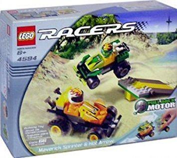 juguete lego racers 4594 maverick sprinter