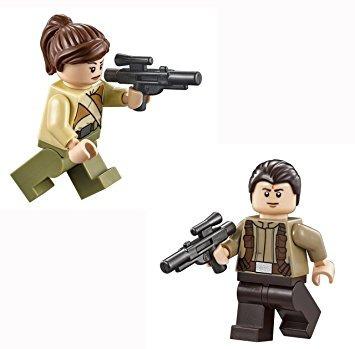 juguete lego resistencia soldado minifiguras con arma de  s