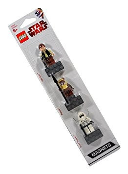 juguete lego star wars character minifigure magnets w1