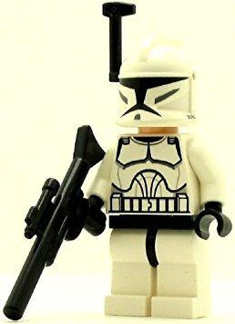 juguete lego star wars clone trooper minifig clone w19