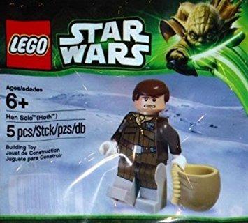 juguete lego star wars han solo hoth promo 2013 exclusivo m