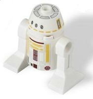 juguete lego star wars r5-f7 astromech droid minifigure