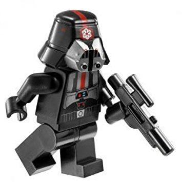 juguete lego star wars sith trooper minifigure 9500