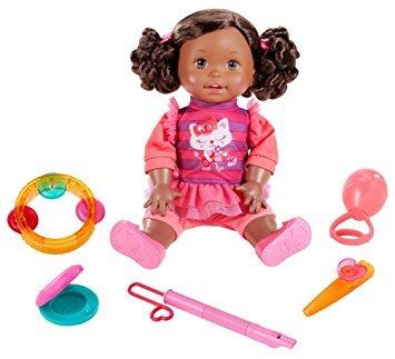 juguete little mommy hagamos música afroamericana de la muñ