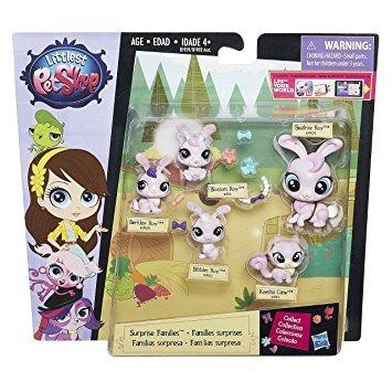 juguete littlest pet shop sorpresa familias mini pack de ma