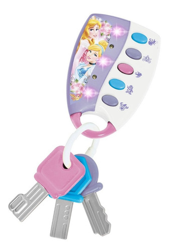 juguete llavero musical disney princesas luz ditoys original