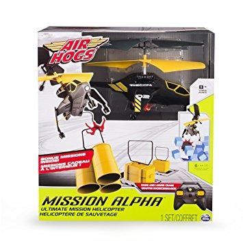 juguete los cerdos de aire, alpha mission última misión del
