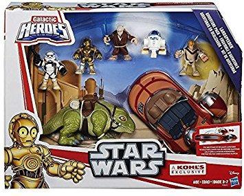 juguete los héroes galácticos star wars landspeeder aventur