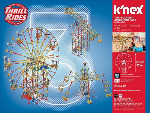 juguete los paseos k'nex thrill