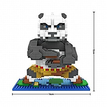 juguete loz película kung fu panda po serie mini diamond bu