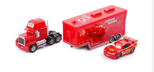 juguete mack cars trailer rayo mcqueen regalo dia del niño