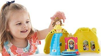 juguete mágico vestido de fisher-price disney princess bell