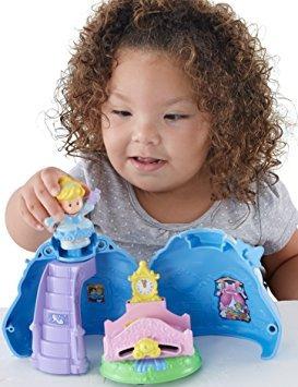juguete mágico vestido de fisher-price disney princess cind